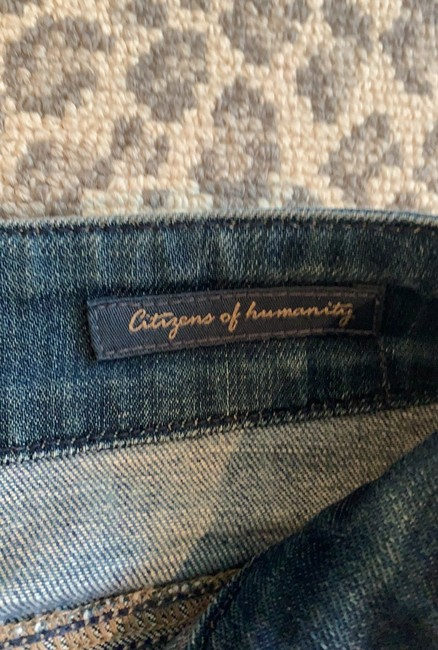 Citizens of Humanity Flare Leg Jeans-Distressed Image 2