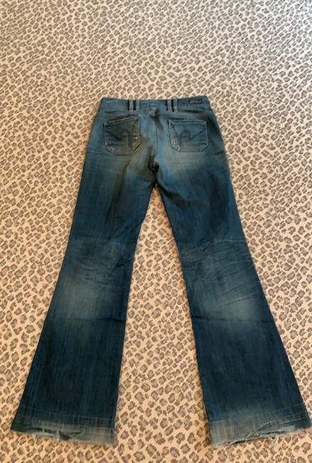 Citizens of Humanity Flare Leg Jeans-Distressed Image 3