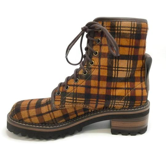 See by Chloé Tartan Brown Boots Image 2