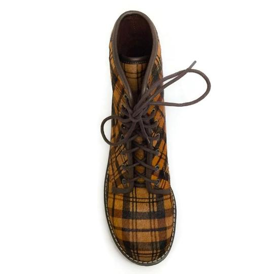 See by Chloé Tartan Brown Boots Image 3