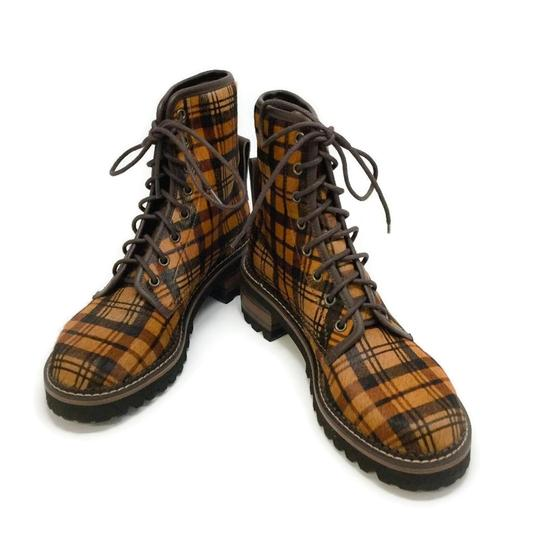 See by Chloé Tartan Brown Boots Image 5