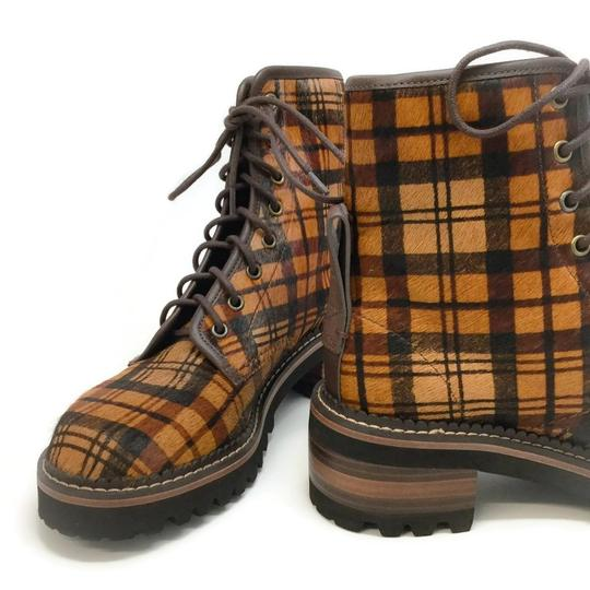 See by Chloé Tartan Brown Boots Image 6