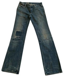 Ralph Lauren Straight Leg Jeans-Distressed