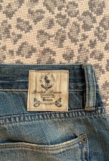 Ralph Lauren Straight Leg Jeans-Distressed Image 4