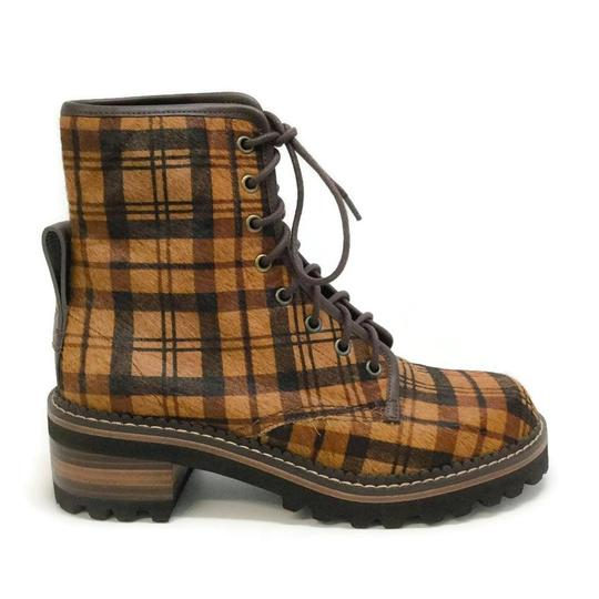 See by Chloé Tartan Brown Boots Image 1