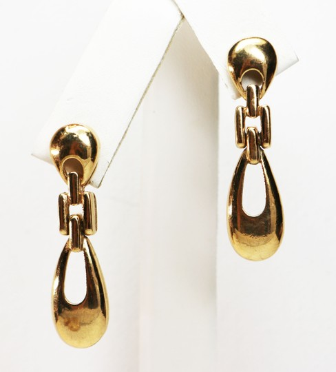 Givenchy Rare Vintage Givenchy Doorknocker Pierced Earrings Image 1