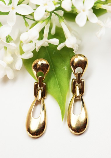 Givenchy Rare Vintage Givenchy Doorknocker Pierced Earrings Image 10