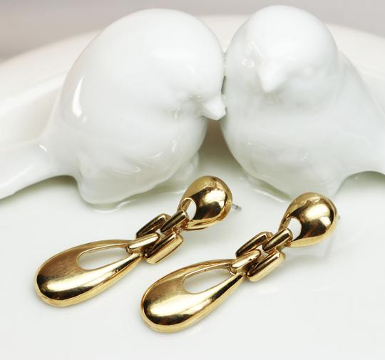 Givenchy Rare Vintage Givenchy Doorknocker Pierced Earrings Image 3