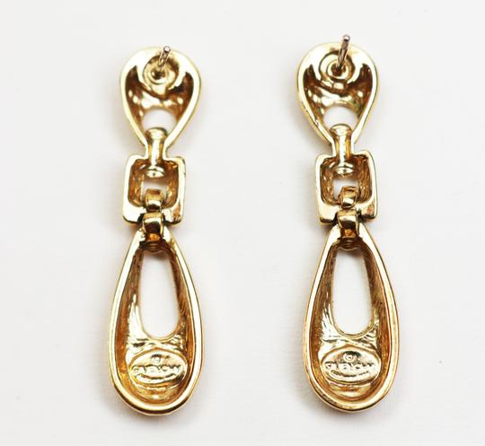 Givenchy Rare Vintage Givenchy Doorknocker Pierced Earrings Image 4