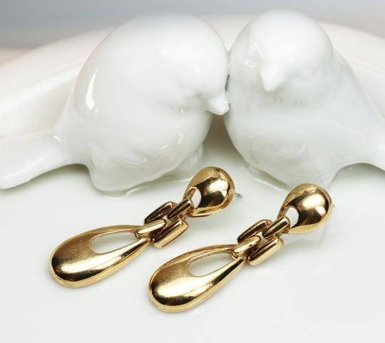 Givenchy Rare Vintage Givenchy Doorknocker Pierced Earrings Image 7