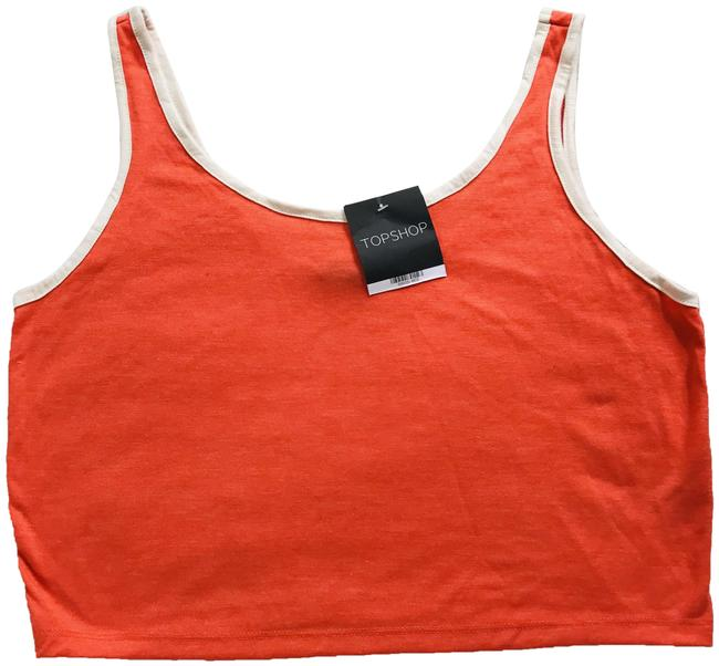 Item - Orange Essential Cotton Camisole Tank Top/Cami Size 8 (M)