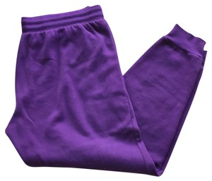 Fabletics Fab X egg plant joggers skinny cuff ankle