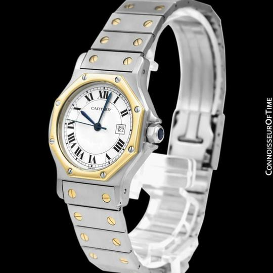 Cartier Cartier Santos Octagon Mens Unisex Watch, Automatic - Stainless Steel Image 1