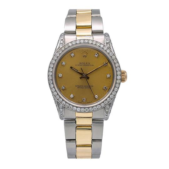 Preload https://img-static.tradesy.com/item/25317717/rolex-champagne-oyster-perpetual-date-15000-34mm-diamond-dial-watch-0-0-540-540.jpg