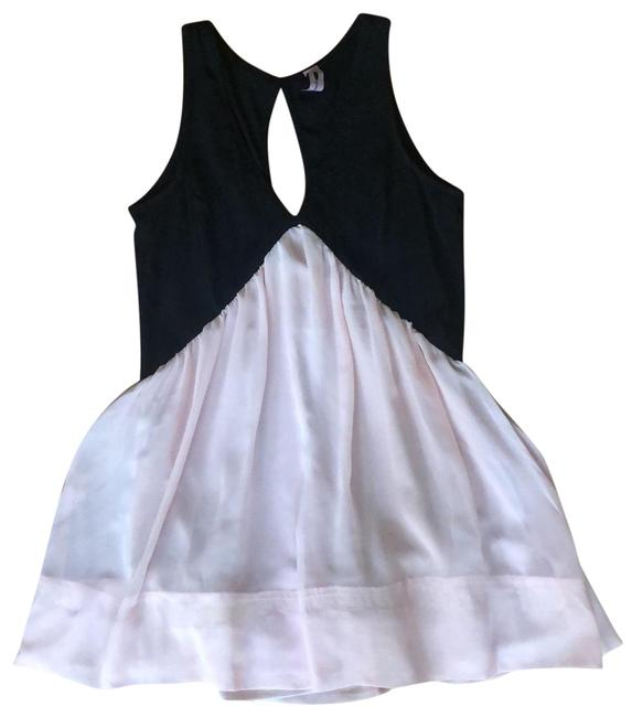 Item - Pink and Black Low Cut Nasty Gal Short Casual Dress Size 0 (XS)