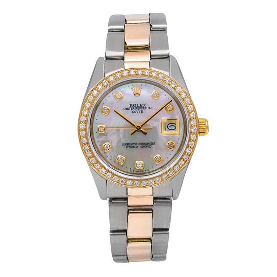 Preload https://img-static.tradesy.com/item/25317743/rolex-mint-oyster-perpetual-date-1500-34mm-mother-of-pearl-dial-watch-0-0-540-540.jpg