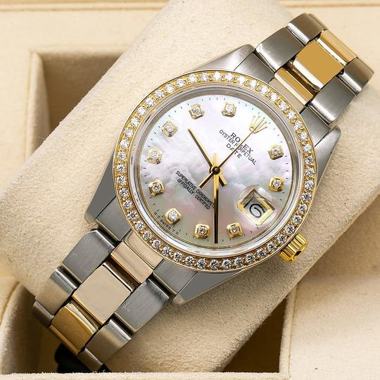 Rolex Rolex Oyster Perpetual Date 1500 34MM Mother of Pearl Dial Image 1