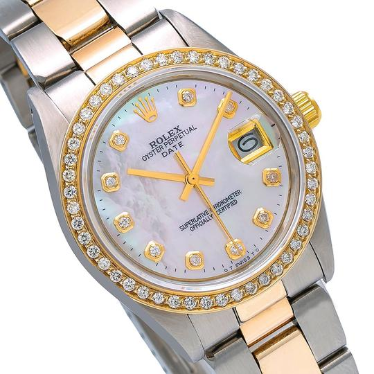 Rolex Rolex Oyster Perpetual Date 1500 34MM Mother of Pearl Dial Image 2