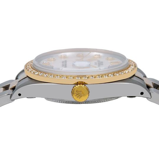 Rolex Rolex Oyster Perpetual Date 1500 34MM Mother of Pearl Dial Image 3