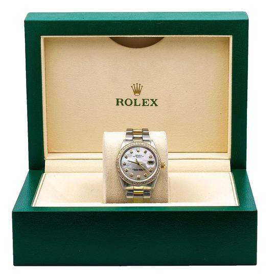 Rolex Rolex Oyster Perpetual Date 1500 34MM Mother of Pearl Dial Image 5
