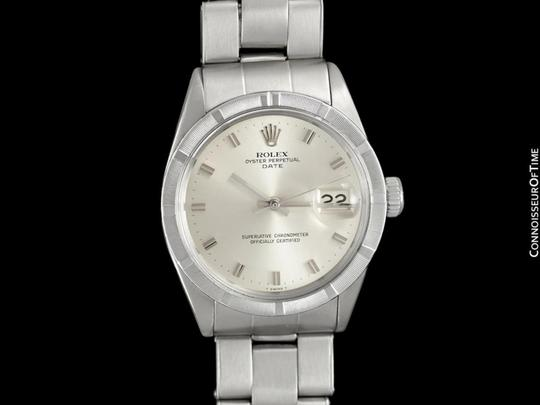 Rolex 1971 ROLEX DATE(DATEJUST) Vintage Mens with Silver Dial - Stainless S Image 1