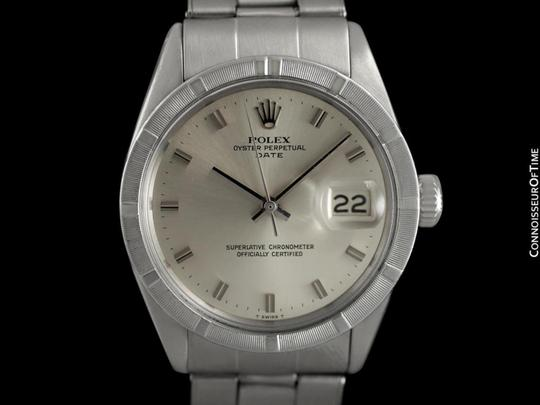 Rolex 1971 ROLEX DATE(DATEJUST) Vintage Mens with Silver Dial - Stainless S Image 2