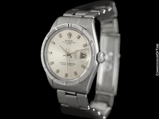 Rolex 1971 ROLEX DATE(DATEJUST) Vintage Mens with Silver Dial - Stainless S Image 3