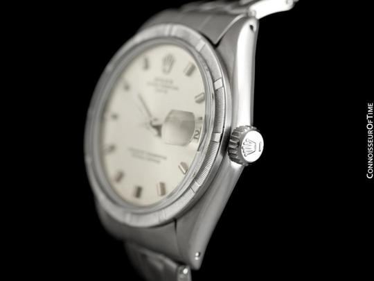 Rolex 1971 ROLEX DATE(DATEJUST) Vintage Mens with Silver Dial - Stainless S Image 4