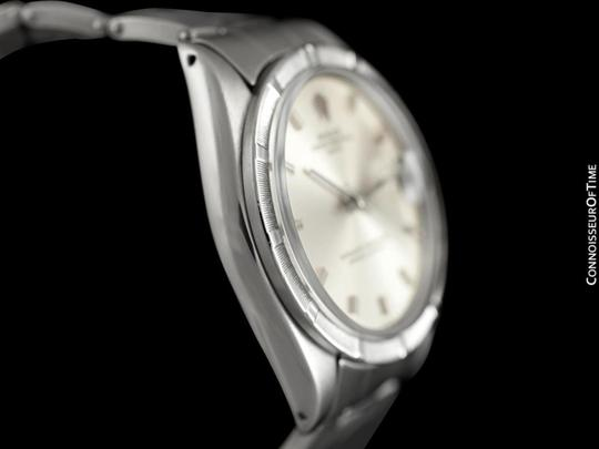 Rolex 1971 ROLEX DATE(DATEJUST) Vintage Mens with Silver Dial - Stainless S Image 5