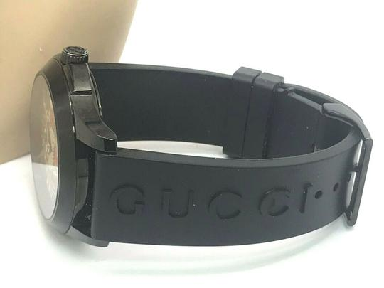 Gucci Gucci Tiger Head Dial Swiss Black Rubber Band 38mm Unisex Watch RARE Image 6