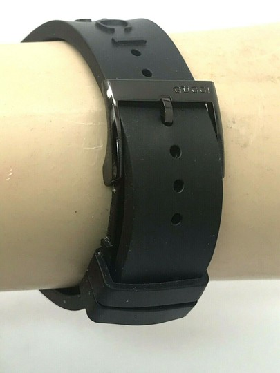Gucci Gucci Tiger Head Dial Swiss Black Rubber Band 38mm Unisex Watch RARE Image 7