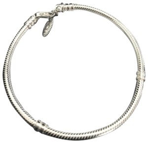 PANDORA Pandora sterling silver lobster clasp bracelet 7.5 inches or 19 cm