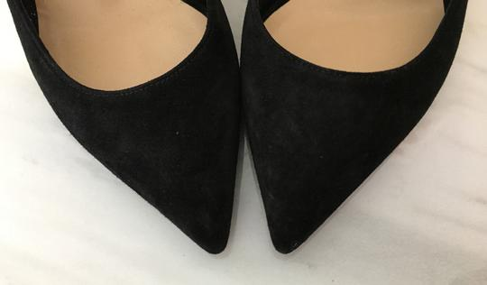 Christian Louboutin Classic Heels Classics Suede Point-toe Black Pumps Image 7
