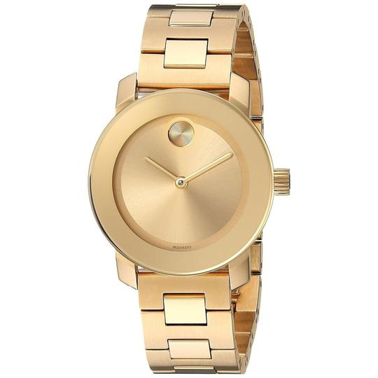 Movado Bold Stainless Sunray Dial Midsize 3600434 Image 8