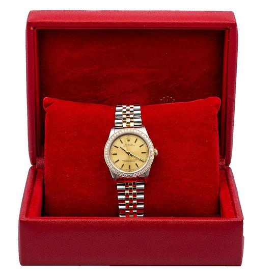 Rolex Rolex Oyster Perpetual 67513 31MM Champagne Dial With 1.05 CT Diamonds Image 5