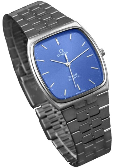 Omega 1981 Omega De Ville Classic Retro Mens Accuset Watch, Quick-Setting Ho Image 0