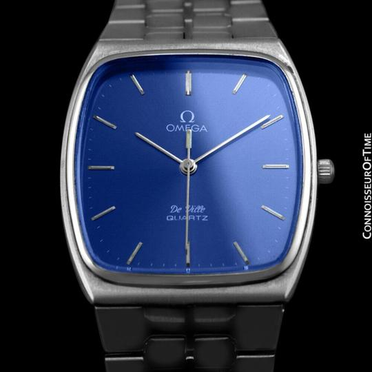Omega 1981 Omega De Ville Classic Retro Mens Accuset Watch, Quick-Setting Ho Image 1