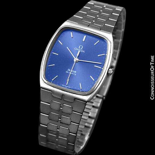 Omega 1981 Omega De Ville Classic Retro Mens Accuset Watch, Quick-Setting Ho Image 2