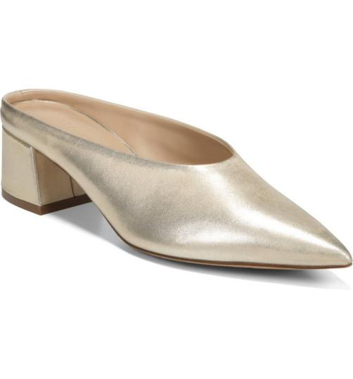 Vince Champagne/cream Mules Image 3