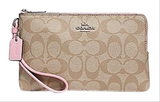 Preload https://img-static.tradesy.com/item/25318074/coach-double-zip-wallet-signature-f16109-multicolor-coated-canvas-wristlet-0-2-540-540.jpg