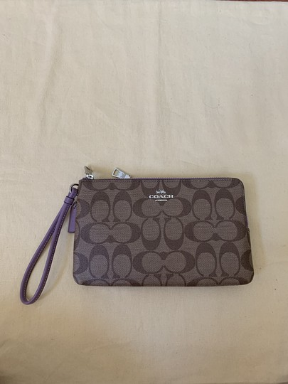 Coach Double Zip Wallet F16109 Wristlet in Multi Image 1