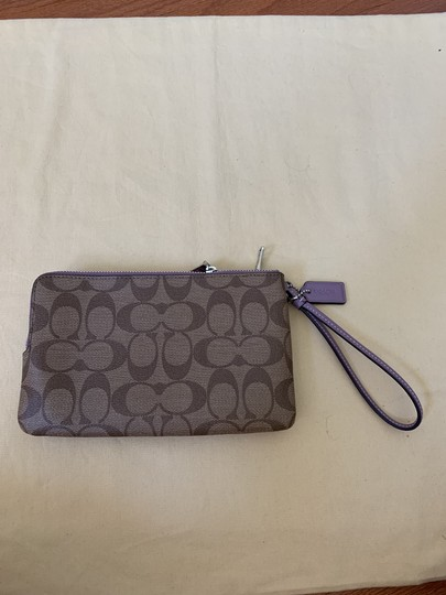 Coach Double Zip Wallet F16109 Wristlet in Multi Image 3