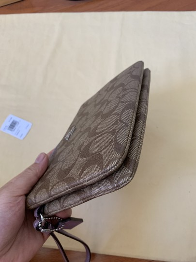 Coach Double Zip Wallet F16109 Wristlet in Multi Image 6