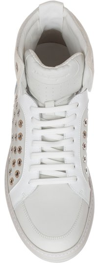 Salvatore Ferragamo white Athletic Image 4
