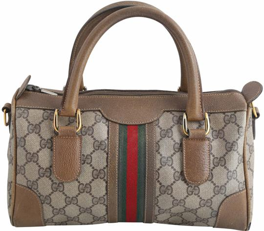 Preload https://img-static.tradesy.com/item/25318208/gucci-boston-monogram-web-brown-canvas-tote-0-1-540-540.jpg