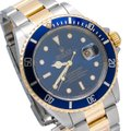 Rolex Rolex Submariner Date 16613 40MM Blue Dial With Two Tone Bracelet Image 2