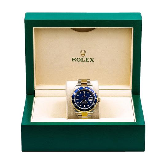 Rolex Rolex Submariner Date 16613 40MM Blue Dial With Two Tone Bracelet Image 5