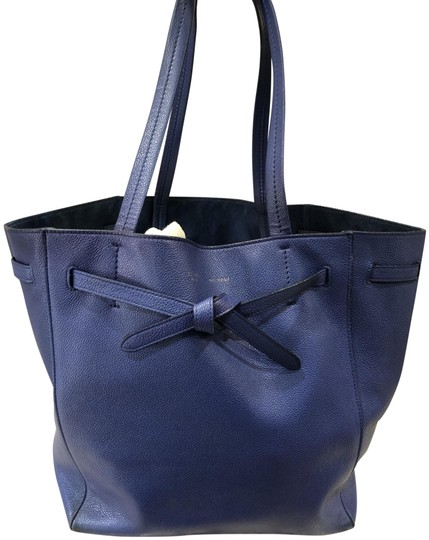 Preload https://img-static.tradesy.com/item/25318220/celine-cabas-phantom-blue-leather-tote-0-1-540-540.jpg