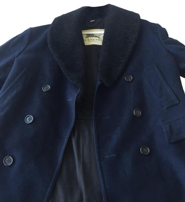 Preload https://img-static.tradesy.com/item/25318333/burberry-navy-blue-wool-peacot-coat-size-14-l-0-1-650-650.jpg