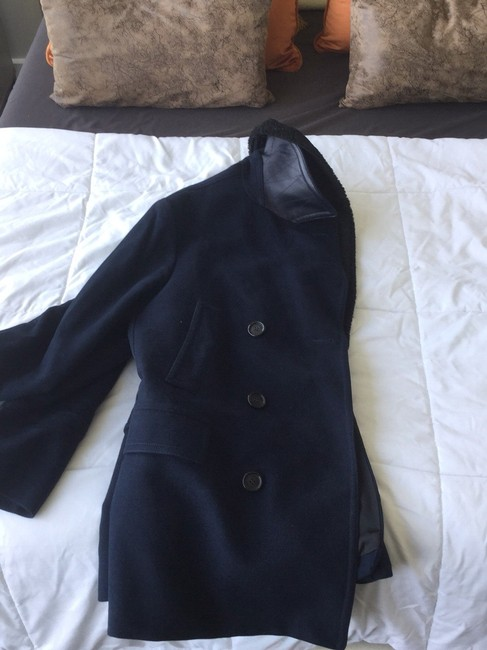 Burberry Pea Coat Image 3